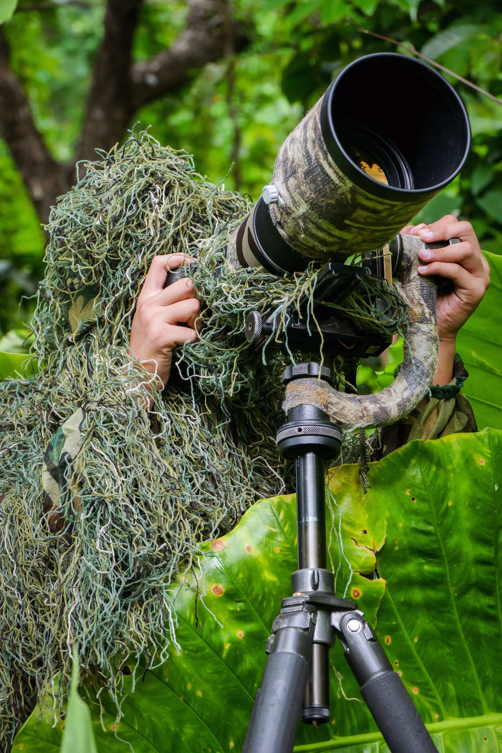 what is a ghillie suit